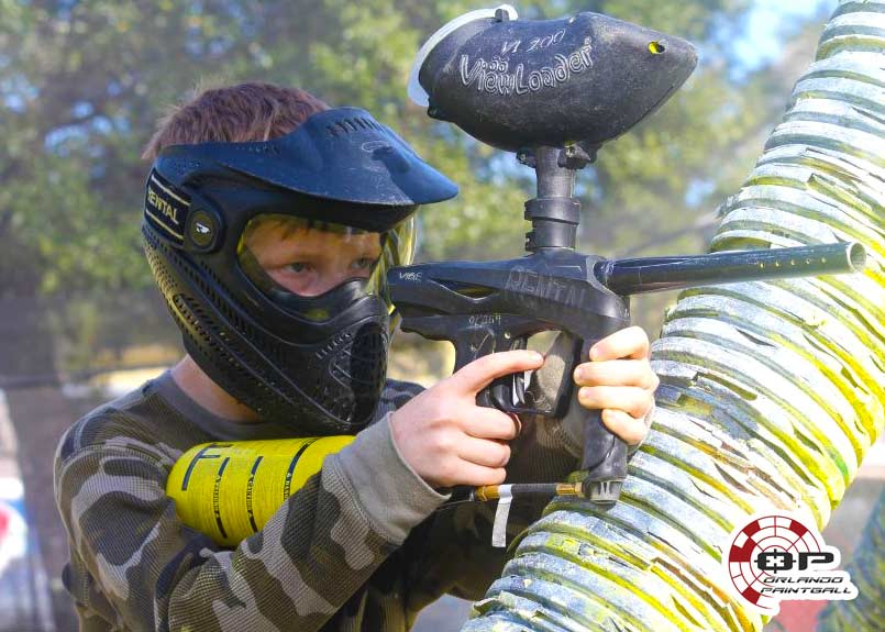 Paintball Birthday Boy