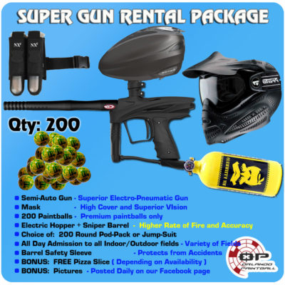 Super Gun Rental Package
